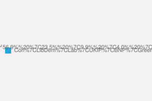 2010 General Election result in Brentwood & Ongar